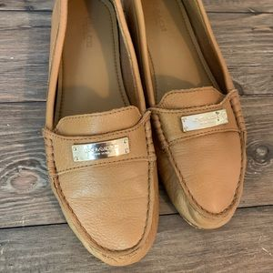 Coach Fredrica Leather Loafer